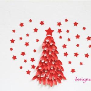 ★クリスマスカード ツリー XmasCard