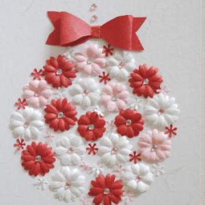 ★クリスマスオーナメント カード作り