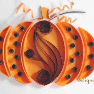 ★Dot Pattern Pumpkin