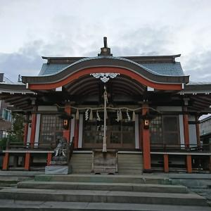 朝runの途中、東浜恵美須神社に寄ってみた。