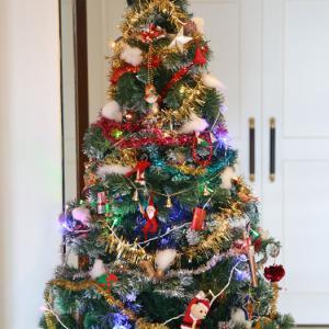 クリスマスツリーをロビーに出しました。