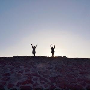 御案内な一日 Nuevamente inicio de Mexico en Teotihuacan