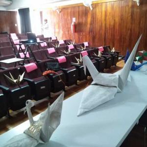 羽ばたき最終講義完了 Vuelo de esperanza Taller Aleteo 2020