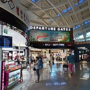 バリ島の空港事情~出国編@Ngurah Rai Airport