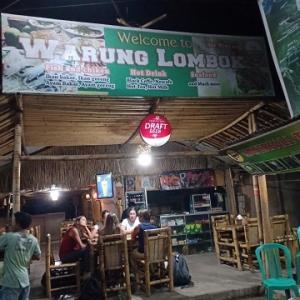 クタのディナーならシーフードBBQ@Warung Lombok