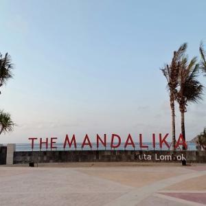 クタの観光名所@マンダリカビーチパーク