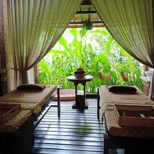 知る人ぞ知る!アルマ美術館内のスパ@Bali Orchid Spa Ubud
