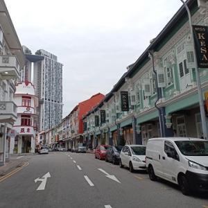 プラナカン建築のホテル@The Keong Saik Hotel