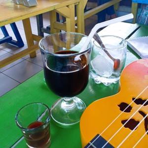 本格的な水出しコーヒー@Warung Alon Alon