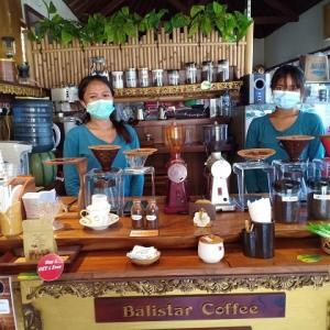 元祖ウブドの100円コーヒー@Balistar Coffee