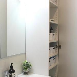 ■洗面所キャビネットの収納もっとスッキリ!