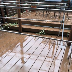 雨天により、本日の大掃除の項目を変更。。