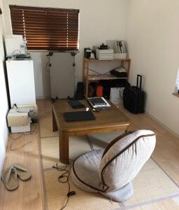 【片付けビフォーアフター】ご主人の書斎!衣類収納とお仕事環境の改善。