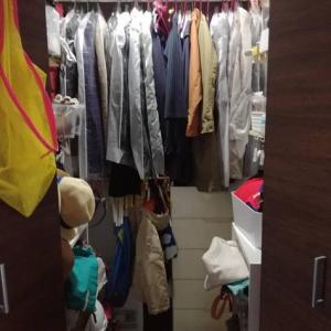 【片付けビフォーアフター】着ていない服を詰め込むクローゼット!