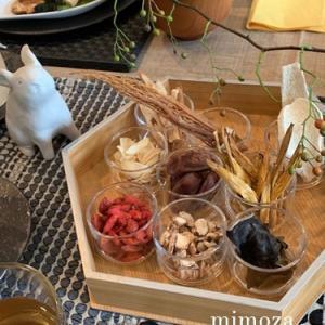 9月の薬膳家庭料理教室とお花のレッスン