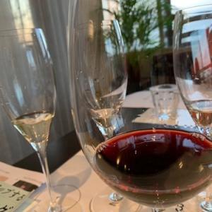 ワイン教室と懇親会