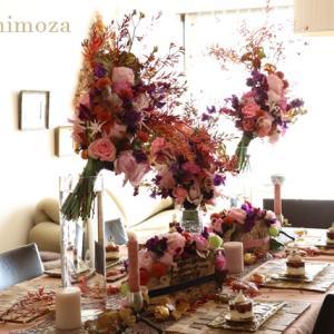 11月のお花のレッスン&六本木周辺ご飯