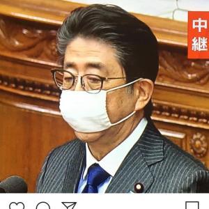 マスク2枚で安心感。