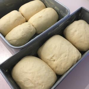::ポイントは湯種らしい::手作り食パン。