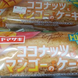 新商品 ココナッツとマンゴーのケーキ