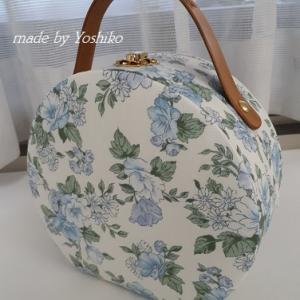 爽やかな花柄の素敵な小さなbag♡マレット♡