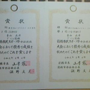 2248. 前橋市民スポーツ祭(水泳) 令1年8月4日(日)