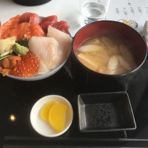 釧之助の海鮮丼食べたよ☆