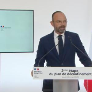フランスのカフェ、営業再開。外出制限解除第2段階についてフィリップ首相が演説