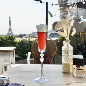 オテル・ド・クリヨンのルーフトップバー「ボンソワール・パリ」 コンコルド広場からエッフェル塔を一望できます