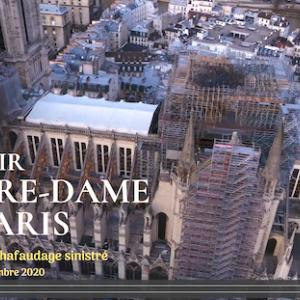 ノートルダム寺院の修復工事 2020年11月24日現在