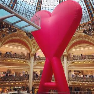 パリ・モナムール 2021年ギャラリーラファイエットの夏はパリ一色