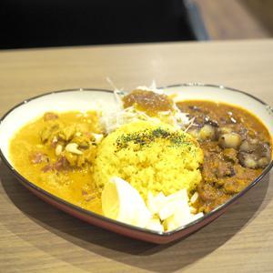 高槻 博多もつ鍋のお店 東屋さん ふたば店のランチ限定スパイスカレー。