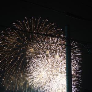 高槻 町の中華屋さん 新生飯店さんとサプライズ花火。