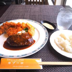 京都 長岡京にある手作りハンバーグのお店 洋食レストラン カブーロさんとお家で餃子パーティー。