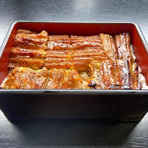滋賀近江今津にある川魚の西友 本店さんで食べるうな重。