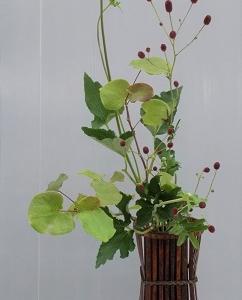 立透かし花籠NO2