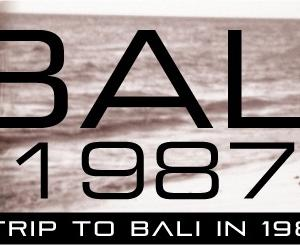 バリ1987-24 ナイトマーケット デート