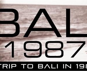 バリ1987-4 出発まで