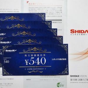 【株主優待】シダックス(4837) ≪2019年3月権利≫