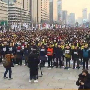 【中国人の反応】コロナなんて怖くない!?ソウルの大衆が禁令を顧みず大型デモ集会を行う!!