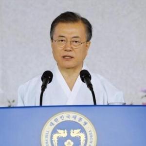 【中国人の反応】中国人「あれ?ヘタレてないw」文在寅「日本が対話と協力を望むなら、韓国は喜んで手を取るニダ」