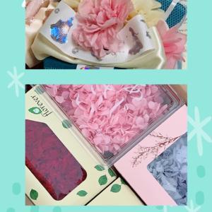 【プリザ】春のアレンジメント〜母の日に向けて〜
