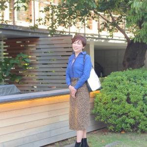 """【今日のスタイル&つぶやき】""""シミ""""と不思議な出来事"""