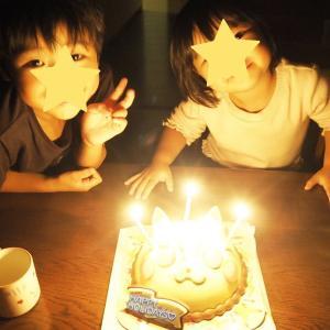 息子の誕生日♡31のアイスケーキでお祝い♡