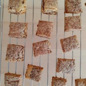 乳たまごなしのやさしいクッキー新作を試作(*´ω`)