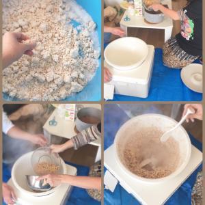 常滑で繋がった仲間と節分前に手作り味噌作り!!