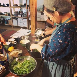 forest-tabre 如月(きさらぎ)の春の発酵ごはんの料理教室へ