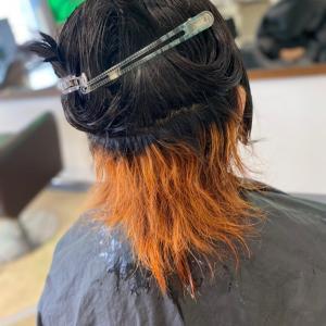 セラピストでも髪を染めたい