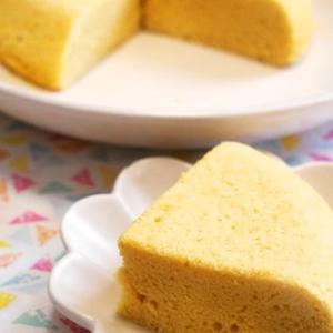 炊飯器でふわふわシフォンケーキ♡【55円ケーキ】