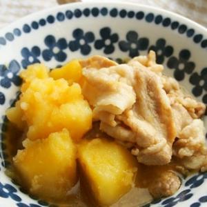 【352円☆主菜】レンチン使えば煮るのは5分!豚こまとじゃが芋のホクホク煮物♪